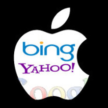 Apple (+bing +yahoo -google)