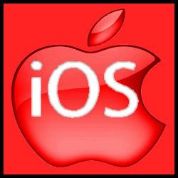 Apple iOS (rojo)