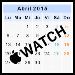 Apple Watch (Abril 2015)