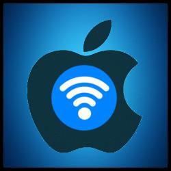 Logo Apple - WiFi