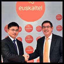 Euskaltel y ZTE