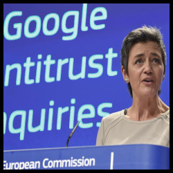 Europa - Vestager (Google)