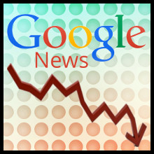 Google News (Flecha caida)