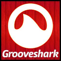 Grooveshark (Fondo rojo)