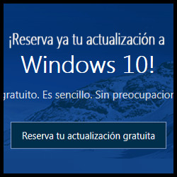 Reserva ya windows 10