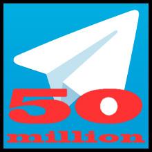 Telegram (50 millones)