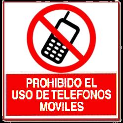 Prohibido usar telefono Movil
