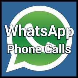 WhatsApp Phone Calls