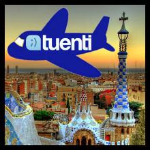Tuenti (Avion sobre Barcelona)