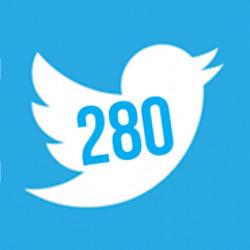 Twitter - 280 caracteres
