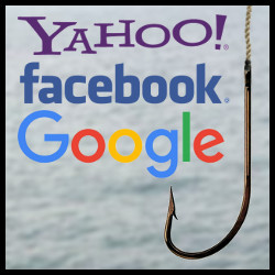 Anzuelo Phishing (Yahoo!, Facebook y Google)