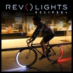 Luces LED Eclipse para bicicleta