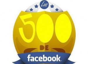 los 500 de facebook