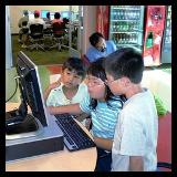 niños ciber