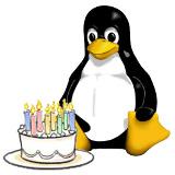 linux cumple
