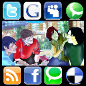 amigos red social