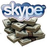 skype dinero
