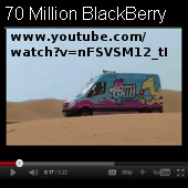video blackberry
