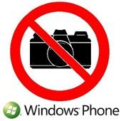 windows phone no camara