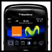 blackberry - movistar y orange