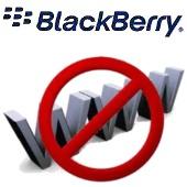 blackberry - no web