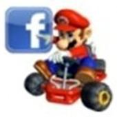 facebook - mario car