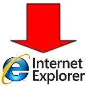 internet explorer - abajo