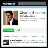 twitter - charlie sheen