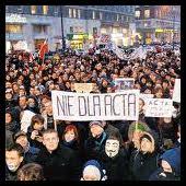polonia protesta contra ACTA