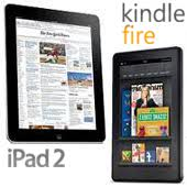 ipad2 y kindle fire
