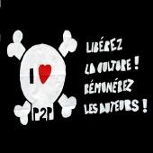 pancarta p2p - francia