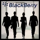 blackberry - ejecutivos de espaldas
