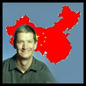 tim cook - china