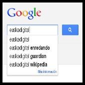google - autocompletar