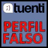 tuenti (perfil falso)
