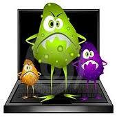 portatil con virus