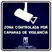 Cámaras de seguridad (cartel)