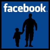 facebook: padre - hijo