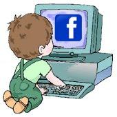 niño en facebook