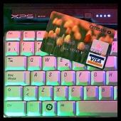 teclado - visa