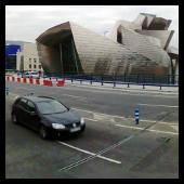 Guggenheim Bilbao - coche