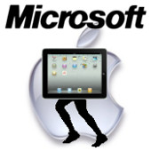 ipad corriendo (microsoft)