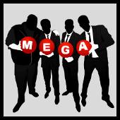 mega in black