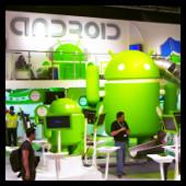 Stand de Android en el MWC
