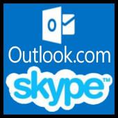 Outlook.com - skype