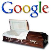 Google y ataud