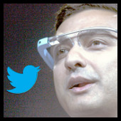 Google glass - Twitter
