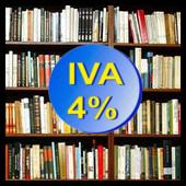 Libros (IVA 4 por ciento)