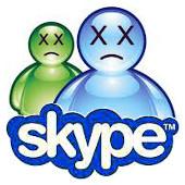 msn triste y skype