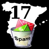 Spam: posicion 17 - spain